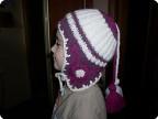 Теплая шапочка для дочки