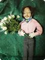 свидание- текстильная кукла