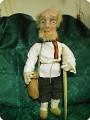 Старик лесовик-текстильная кукла