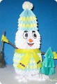 Снеговичек для племяшки