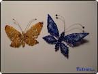 Поделка, изделие Бисероплетение: Бабочки Бисер.