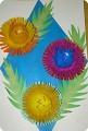 Цветы из киндер - сюрприза