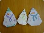 Семейка снеговиков.