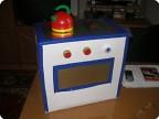 печка-ящик для игрушек