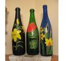 Росписанные бутылки