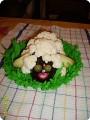 Овощная овечка.
