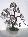 деревце из сколов натуральных камней