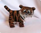 Маленький усурийский тигренок