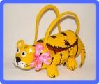 Тигровая Новогодняя сумочка