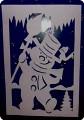 1.Снеговик в окошке2.ШаблончикКрасивый снеговичок может украсить окно либо открытку.  Вырезается очень стремительно.