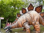 Динозавры парка атракционов Гайзельвинд