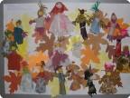 """Работа моих учеников. Этот плакат участвовал в конкурсе """"Кукольная биеналия"""", в г. Красноярске."""