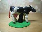 Корова и теленок. (пластилин)