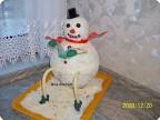торт..Снеговик..