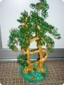 бисероплетение денежное дерево из бисера - Вышивка бисером.