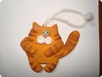 Поделка кот из теста соленого теста своими руками