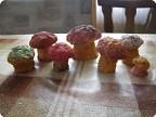 грибочки из папье-маше