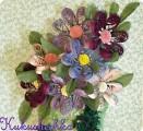 Квиллинг. Горшочек с цветами