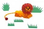 Лев в технике объёмного квиллинга