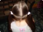 """МК Прически для любимой дочурки """"Коса крест на крест"""""""