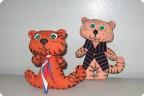 Игрушки тигренок своими руками