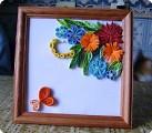 Букетик цветов для бабушки