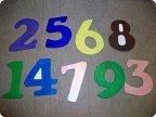Цифры в школу своими руками 347