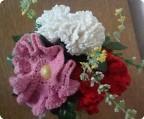 Вязаные цветы 2