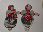 Куколки из бабушкиной ткани МК