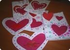 Готовимся с сынишкой ко дню Святого Валентина