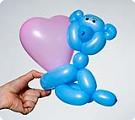 Медвежонок с сердечком ко Дню Святого Валентина.