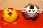 Овечка и цыплёнок