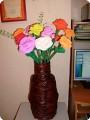 Ваза с цветами.