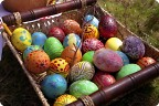 Традиция расписывать яйца)))))