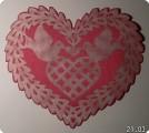 Сердечко-гильошированием
