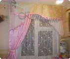 Описание: выкройки шторы для кухни - Джинсы.