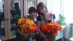 P1040858 Тюльпаны из гофрированной бумаги своими руками, 3 мастер-класса