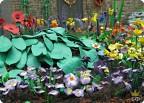 Райский уголок из пластилиновых цветов в Челси
