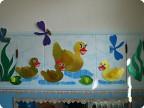 Умывальная комната в детском саду.
