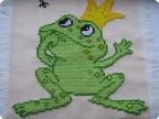 Вышивка крестом - Царевна - жаба.