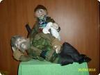 Кукла военный своими руками мастер класс