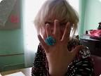 Бисерное кольцо