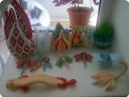 Мои работы модульное оригами