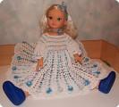 Крестильное платье  для моей принцессы