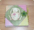 Скрапбукинг: МК: детский  миниальбом