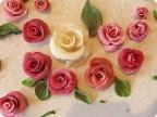 Съедобные цветы из теста своими руками мастер класс 42