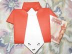 МК Рубашка с галстуком(поздравительная открытка-конверт)