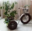 Велосипед газетный
