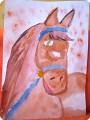 Рисовала моя доченька Мариночка в 7 лет