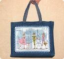 Украшение Вышивка крестом: летняя сумка Нитки Отдых.